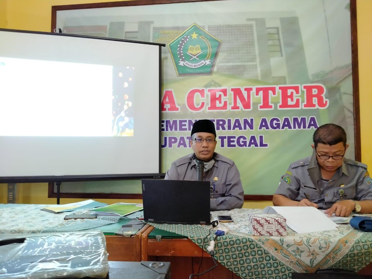 Kepala Kantor Inisiasi Program Optimalisasi Zakat Infaq Shodaqoh Di Kabupaten Tegal